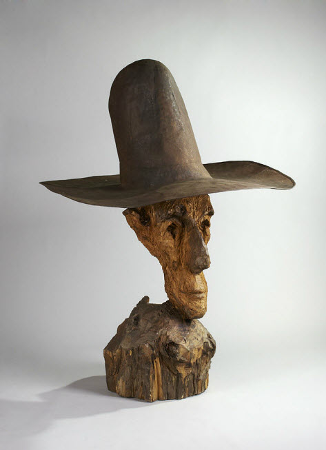 Man with Hat, 1999